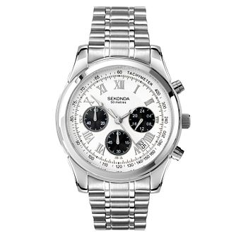 Sekonda Men's Chronograph Stainless Steel Bracelet Watch - Product number 9784845