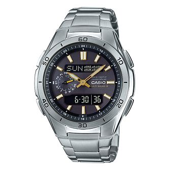 Casio Waveceptor Men's Stainless Steel Bracelet Watch - Product number 9790063