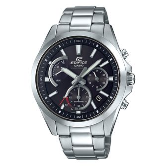 Casio Edifice Stainless Steel Black Dial Watch - Product number 9790101