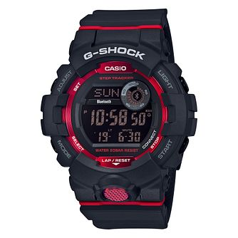Casio G-Shock Men's Steptracker Black Resin Strap Smartwatch - Product number 9790225