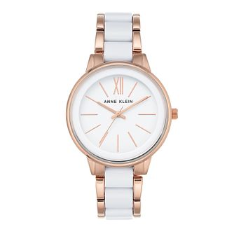 Anne Klein Ladies Two Colour Ceramic Bracelet Watch - Product number 9790640