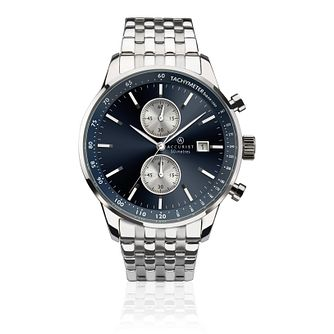 Accurist Men's Chronograph Stainless Steel Bracelet Watch - Product number 9792864