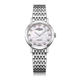 Rotary Windsor Ladies' Diamond Bracelet Watch - Product number 9793305