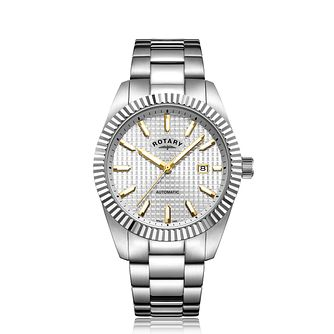 Rotary Men's Automatic Stainless Steel Bracelet Watch - Product number 9793704