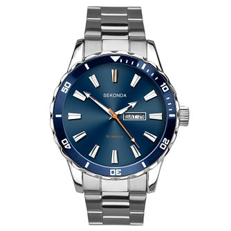 Sekonda Men's Stainless Steel Bracelet Watch - Product number 9795103