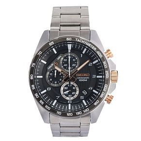 Seiko Men's Stainless Steel Bracelet Watch - Product number 9795553