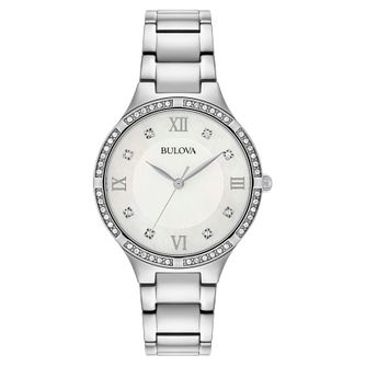 Bulova Ladies' Classic Swarovski Bracelet Watch - Product number 9795642