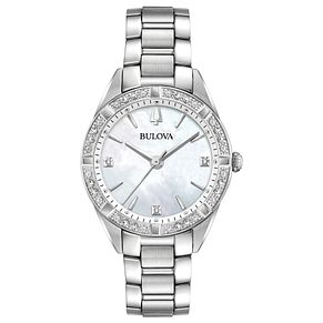 Bulova Ladies' Classic Sutton Mother of Pearl Dial Watch - Product number 9795669