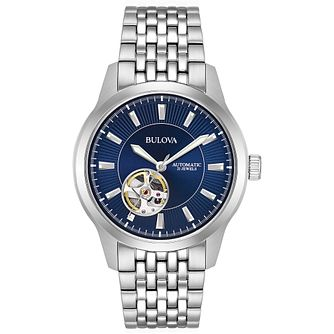 Bulova Men's Automatic Skeleton Dial Bracelet Watch - Product number 9795723