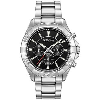 Bulova Men's Classic Stainless Steel Bracelet Watch - Product number 9795758