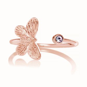 Olivia Burton Bejewelled Butterfly Tanzanite Ring - Product number 9796754