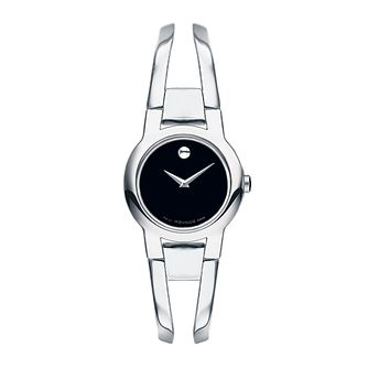 Movado Amorosa ladies' stainless steel bracelet watch - Product number 9797955