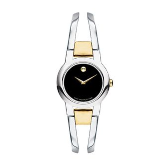 Movado Amorosa ladies' two colour bracelet watch - Product number 9797963