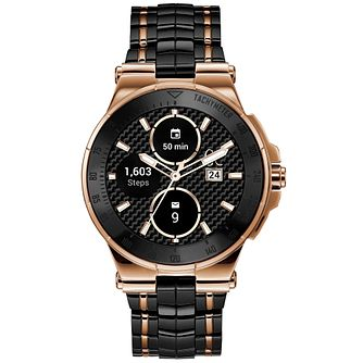 Gc Connect Men's Stainless Steel Ceramic Bracelet Watch - Product number 9800409