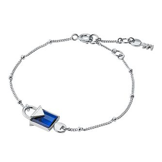 Michael Kors Sterling Silver Kors Colour Quartz Bracelet - Product number 9801081