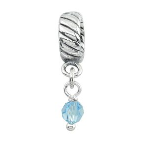 Charmed Memories Swarovski Element March Bead - Product number 9802150