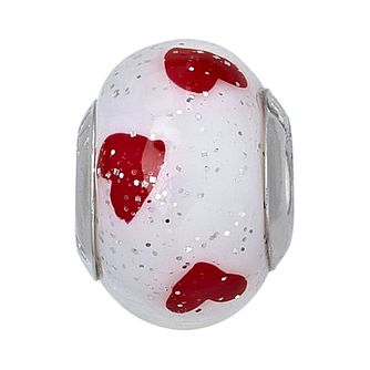 Charmed Memories Heart Murano Glass Bead - Product number 9802770
