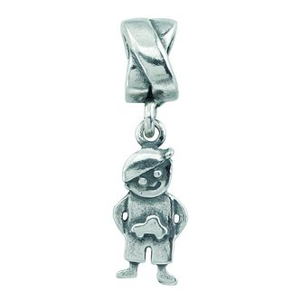 Charmed Memories Silver Little Boy Bead - Product number 9802835