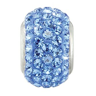 Charmed Memories Sterling Silver Blue Crystal Bead - Product number 9803262