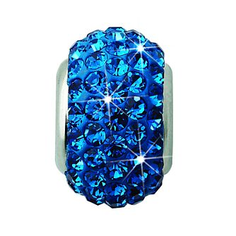 Charmed Memories Royal Blue Crystal Bead - Product number 9803300
