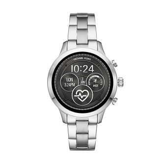Michael Kors Ladies' Stainless Steel Runway Access Watch - Product number 9804676