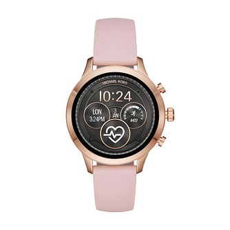 Michael Kors Ladies' Runway Rose Gold Tone Smartwatch - Product number 9804706