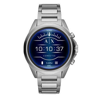 Armani Exchange Connected Gen 4 Stainless Steel Smartwatch - Product number 9805648