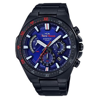 Casio Edifice Toro Rosso Men's Ion Plated Bracelet Watch - Product number 9806075