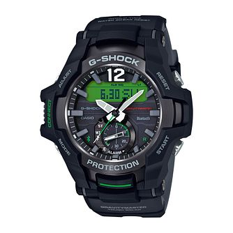 Casio G-Shock Gravitymaster Men's Black Resin Bracelet Watch - Product number 9806156