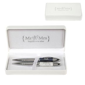 Special Memories Mr & Mrs Two Pen Set - Product number 9809473