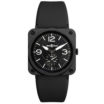 Bell & Ross Ceramic men's 39mm matt black ceramic watch - Product number 9825436
