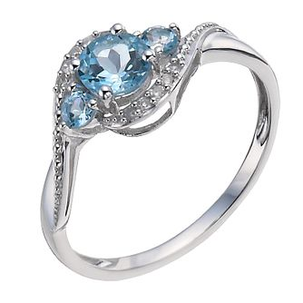 aquamarine ring edwardian aqua rings engagement