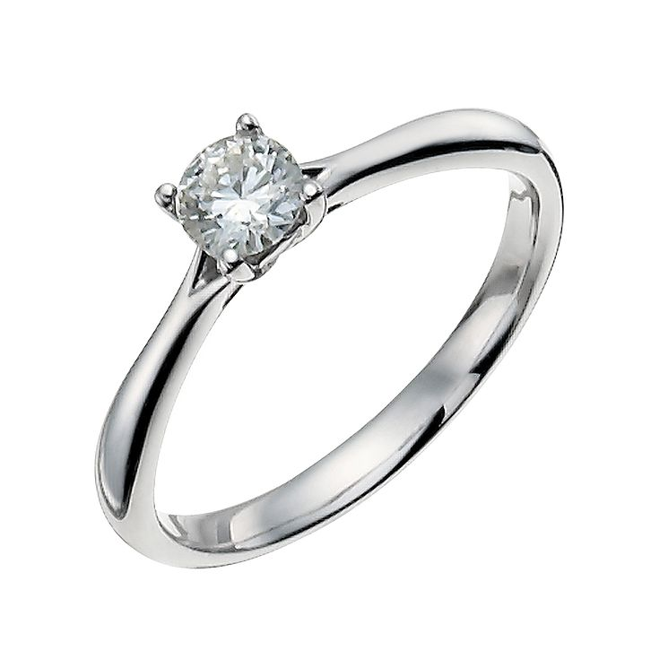 9ct White Gold 1/3 Carat Forever Diamond Ring - Product number 9935517