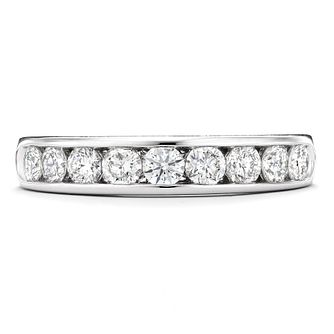 Tolkowsky 18ct white gold 3/4ct I-I1 diamond ring - Product number 9937285