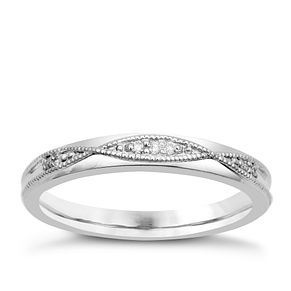 Palladium & Diamond Perfect Fit Eternity Ring - Product number 9982612