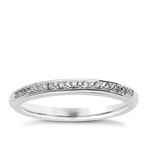 18ct White Gold & Diamond Perfect Fit Eternity Ring - Product number 9983023