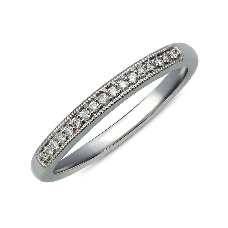 9ct White Gold & Diamond Perfect Fit Eternity Ring - Product number 9983821