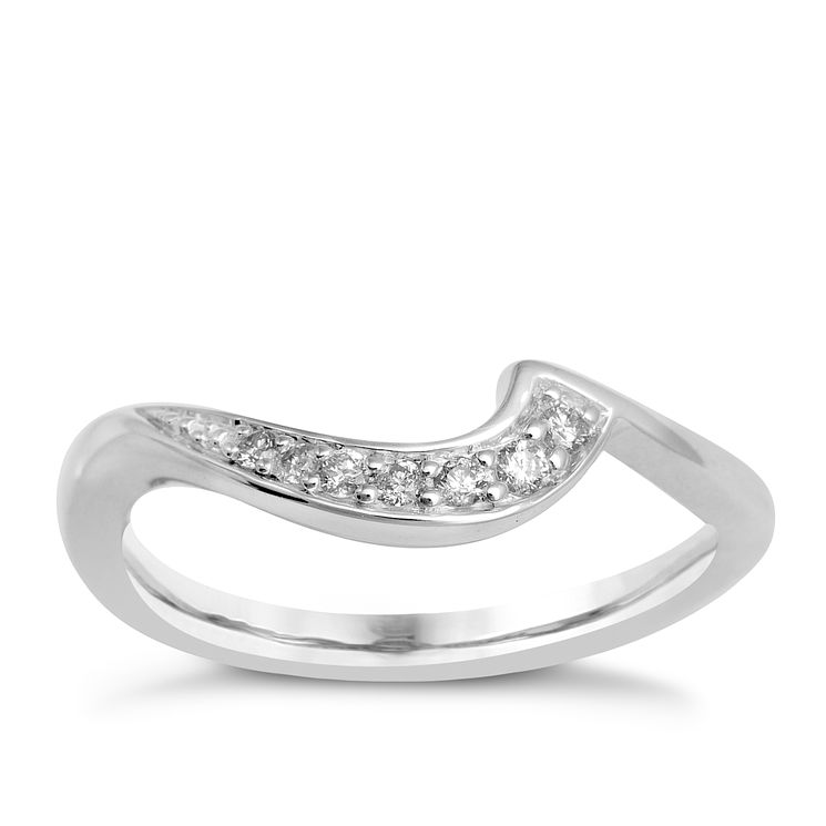 9ct White Gold & Diamond Perfect Fit Eternity Ring - Product number 9983953