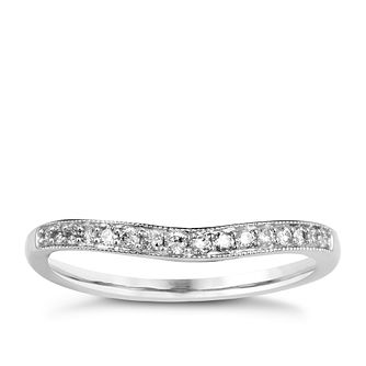 9ct White Gold & Diamond Perfect Fit Eternity Ring - Product number 9985026