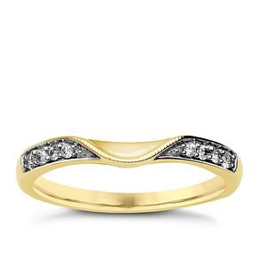 9ct Yellow Gold & Diamond Perfect Fit Eternity Ring - Product number 9985271