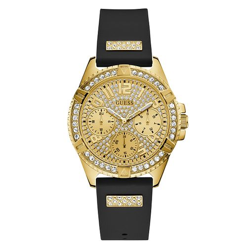Guess Men's Crystal Dial Two Tone Bracelet Watch - Product number 1000799