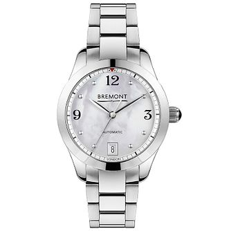 Bremont Solo-34 Ladies' Stainless Steel Bracelet Watch - Product number 1001604