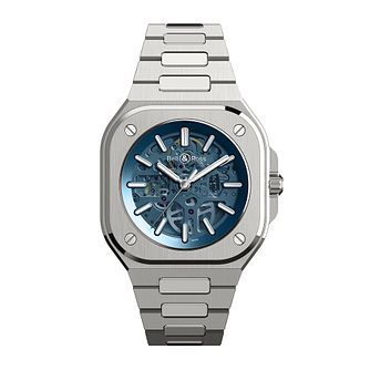 Bell & Ross BR05 Blue Skeleton Men's Stainless Steel Watch - Product number 1001817