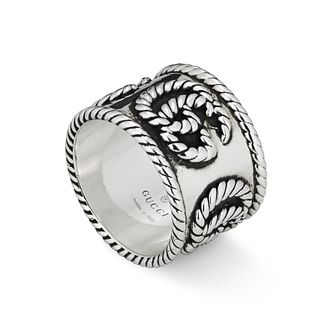 Gucci Double G Marmont Ladies' Silver XL Ring - Product number 1002384