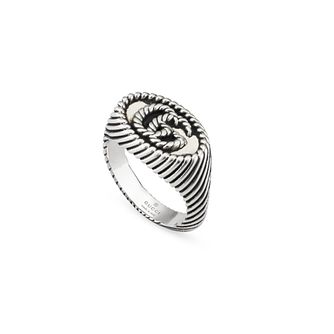 Gucci Double G Marmont Ladies' Silver Ring - Product number 1002392
