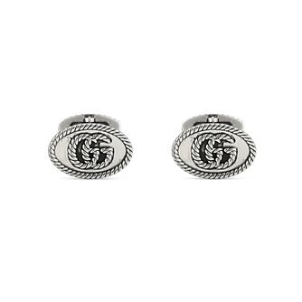 Gucci Double G Marmont Men's Silver Cufflinks - Product number 1002449