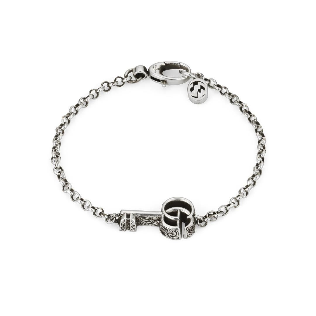 Gucci Key Marmont Silver 17cm Bracelet - Product number 1002465