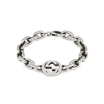 Gucci Interlocking G Ladies' Silver Bracelet - Product number 1002481