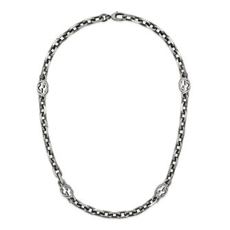Gucci Double G Marmont Ladies' Silver XL Necklace - Product number 1002538