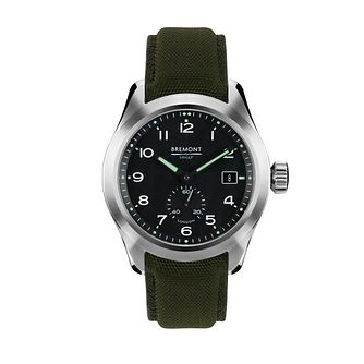 Bremont Broadsword Men's Green Strap Watch - Product number 1002880